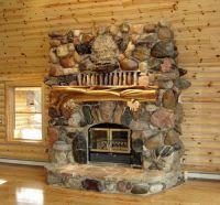Cabin decor, Hand Carved Fireplace Mantels, Juniper Log ...