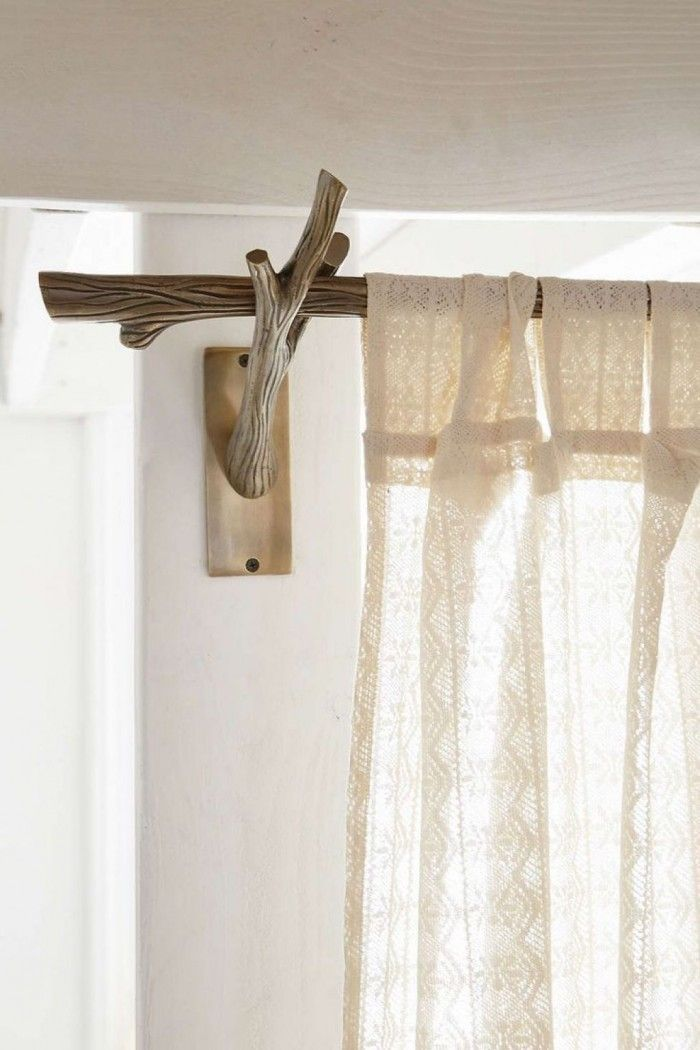 25 Best Ideas About Rustic Curtain Rods On Pinterest Rustic