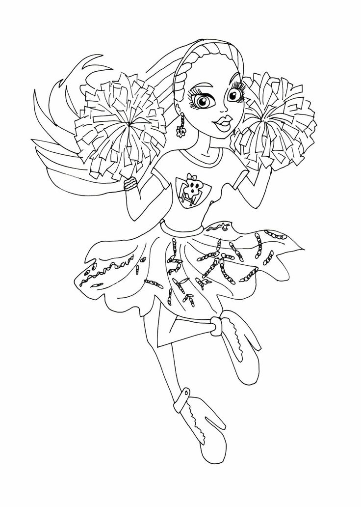 177 best images about Monster High Coloring Pages on Pinterest