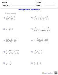 Factoring Practice Worksheet Algebra 2 Answers