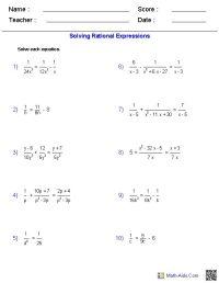 Factoring Practice Worksheet Algebra 2 Answers - algebra 2 ...