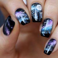 Best 25+ Galaxy nail art ideas on Pinterest | Galaxy nail ...