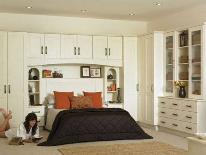 Built Ins Are Great For More Storage Bedroom Pinterest In Wardrobe Ed Kitchens And Furniture