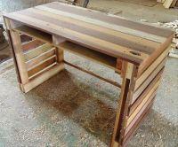25+ best ideas about Pallet desk on Pinterest | Desk ideas ...