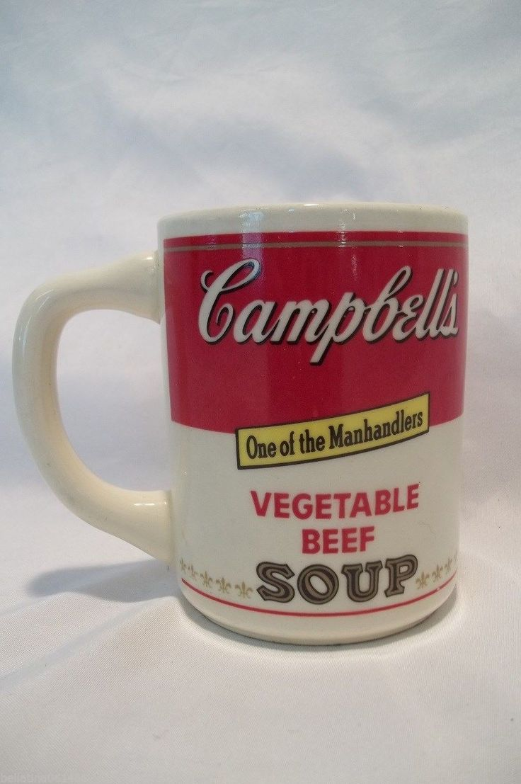 Can Soup Labels Campell