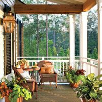 country garden porches | ... Date Night Ideas Sunset Porch ...