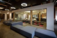 Modern High-Tech Open Concept Office Interior Design. # ...