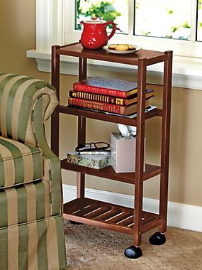 kitchen utensil rack cabinet factory outlet rolling carts, shelves and wheels on pinterest