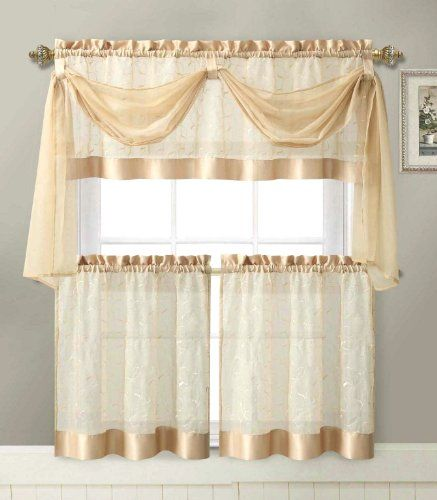 30 Best Images About Kitchen Curtain Ideas On Pinterest Room
