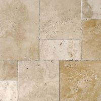 Ivory Pave Real Versailles Pattern Travertine Patterns ...