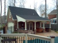 Garage Pool House Combos | 20'x24' Super Custom Full Brick ...