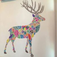 coloring ideas-deer | Millie Morotta Coloring Book Ideas ...