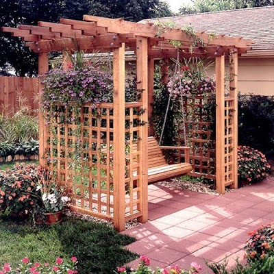 18 Best Images About Swing Arbor On Pinterest Gardens Vinyls