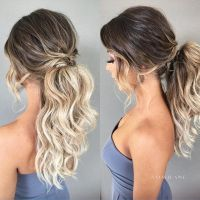 25+ best ideas about Wedding Ponytail Hairstyles on