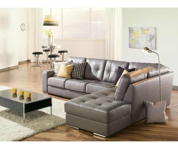 leather living room with sectional ideas 25+ Best Ideas about Grey Leather Sofa on Pinterest