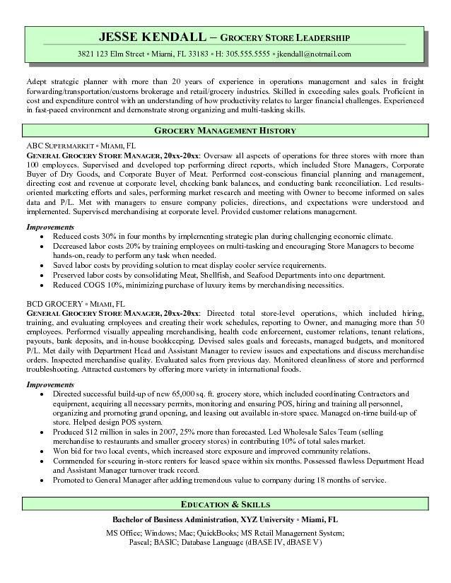 Owner Operator Resume
