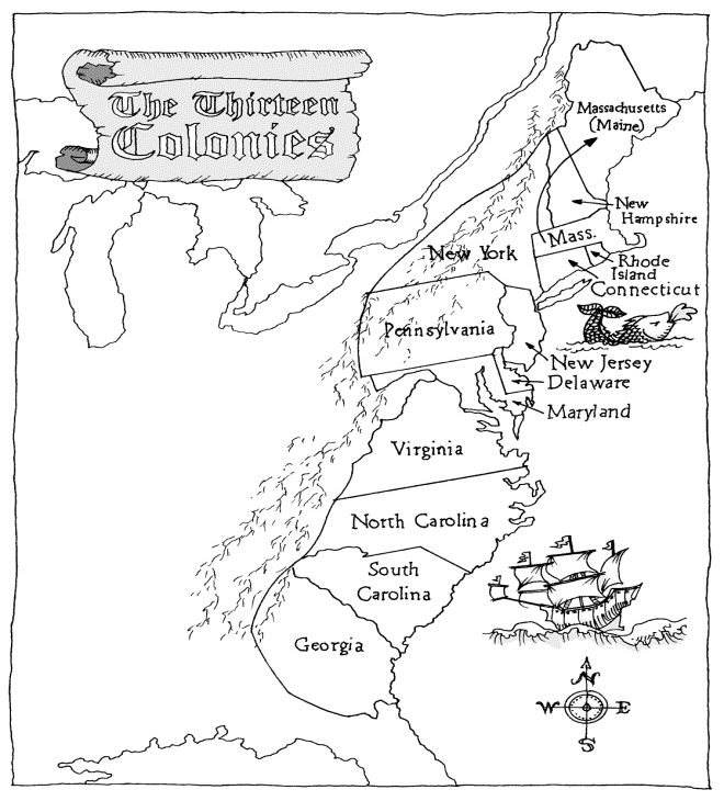 13 Colonies Map Coloring Page Sketch Coloring Page