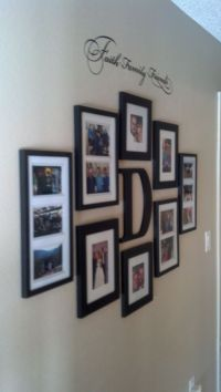 Best 20+ Photo Wall Arrangements ideas on Pinterest