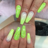 25+ Best Ideas about Lime Green Nails on Pinterest ...