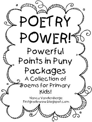 Poetry Power- Powerful Points in Puny Packages! I finally