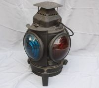 Industrial Railroad ADLAKE Non-Sweating Lamp Chicago Blue ...