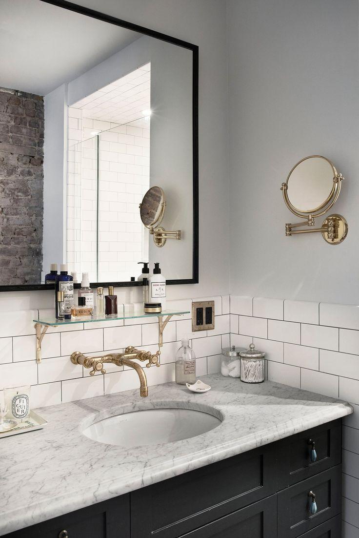 1000 ideas about Subway Tile Bathrooms on Pinterest  Tiled Bathrooms White Subway Tile