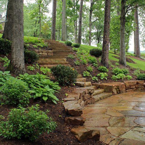 25+ best ideas about Hillside Landscaping on Pinterest