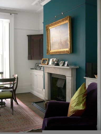 Accent Walls Teal Accents And Teal Accent Walls On Pinterest