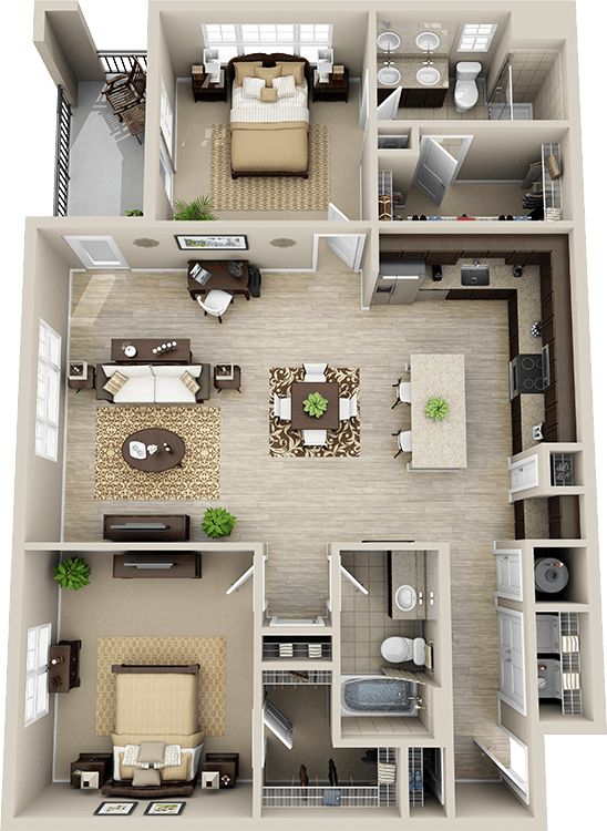 25 Best Ideas About 3d House Plans On Pinterest Sims 4 Houses