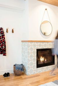 Best 25+ Tiled Fireplace ideas on Pinterest | Fireplace ...