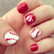 ideas baseball nail
