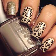 leopard nail design ideas