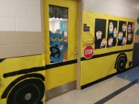 1088 best images about bulletin boards/doors on Pinterest