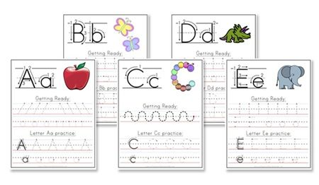 1000+ images about Handwriting practice for Kids on