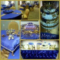 Royal King Baby Shower Theme