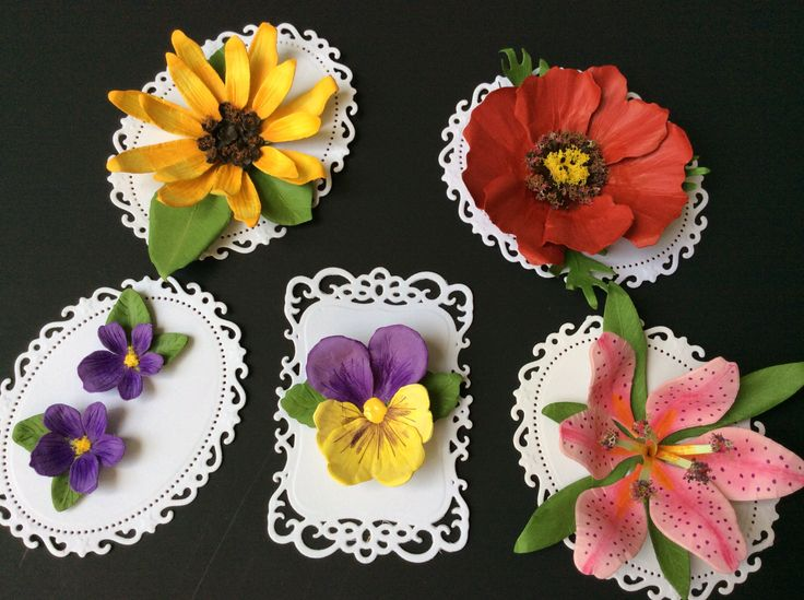 small flower paper punch