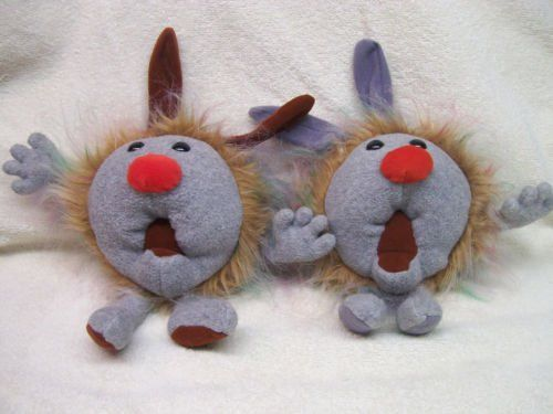 Plush Fuzzy And Wuzzy Dustbunnies From Big Comfy Couch Big Comfy