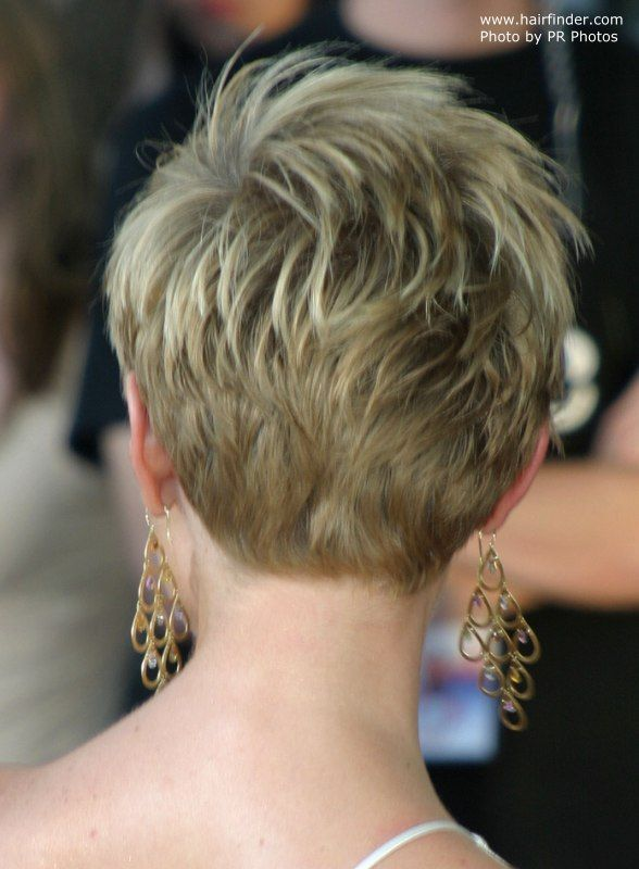 25 Best Ideas About Short Hair Back View On Pinterest Pixie