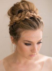high+bun+wedding+hairstyles,+tup+bun+hairstyles+for ...