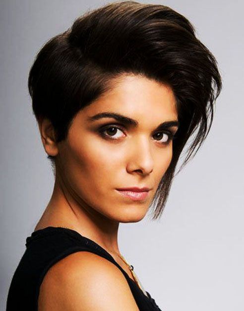 Find another beautiful images Square Face Short Haircut For Models at http