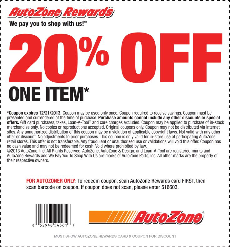 Autozone coupon  Printable Coupons  Pinterest  Printable coupons and Coupons