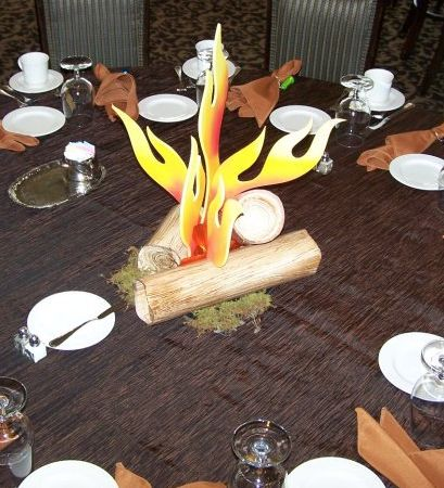 10 Best Images About Camping Themed Party Decor On