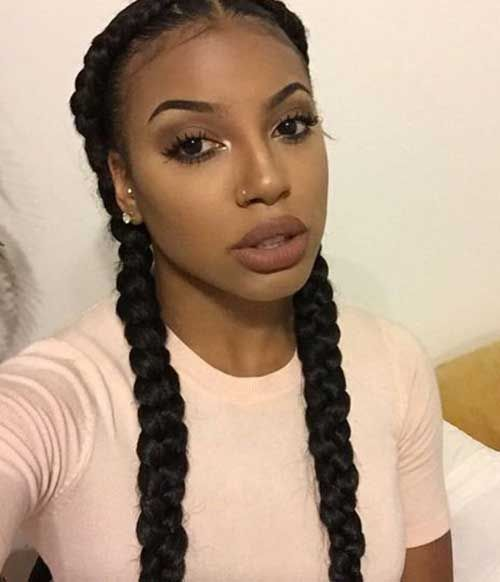 25 Best Ideas About Black Women Braids On Pinterest