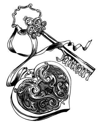 1000+ ideas about Heart Locket Tattoos on Pinterest
