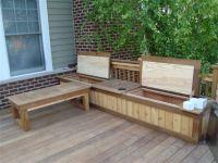 1000+ ideas about Deck Storage Bench on Pinterest | Deck ...