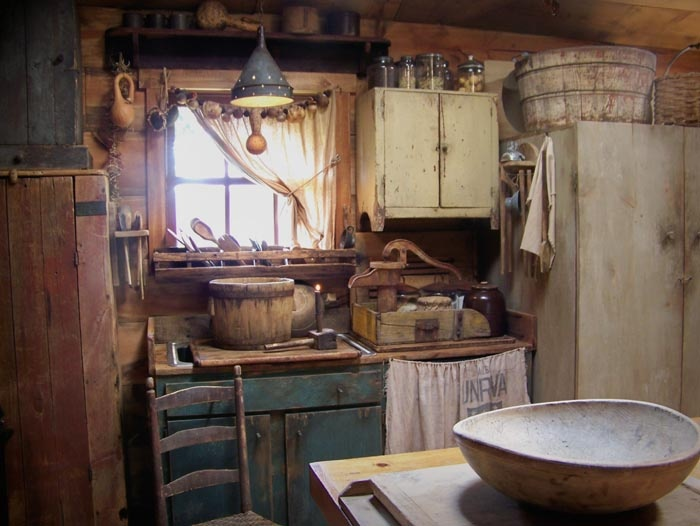 7 Best Images About Primitive Rooms And Settings On