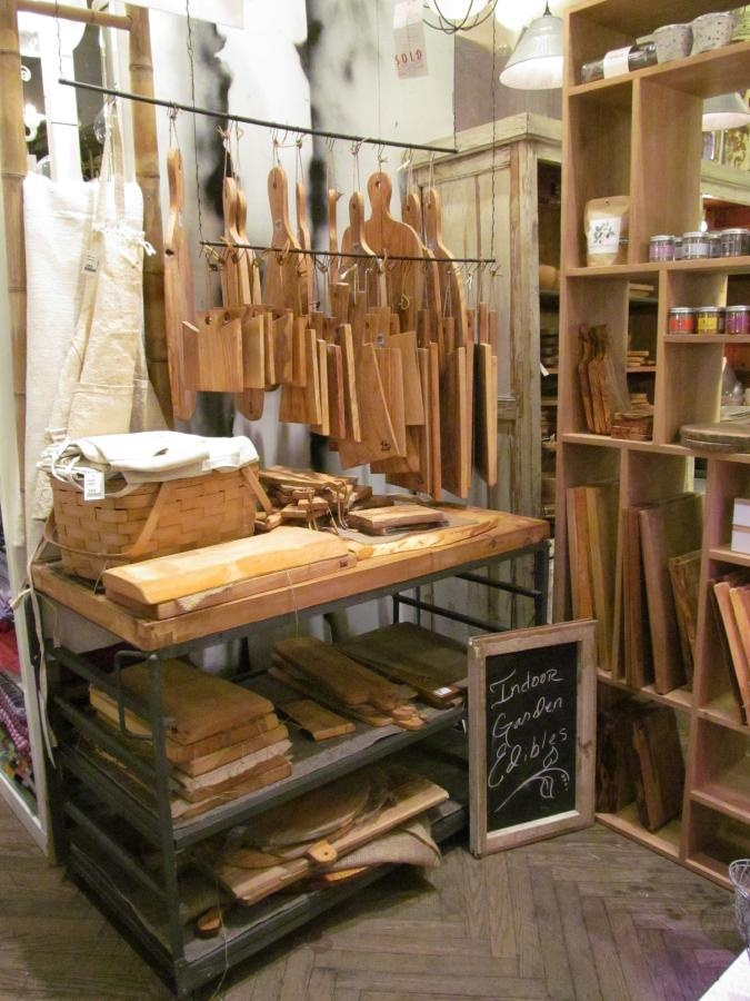 Cutting Boards And Spice Display At Abc Carpet Amp Home Nyc