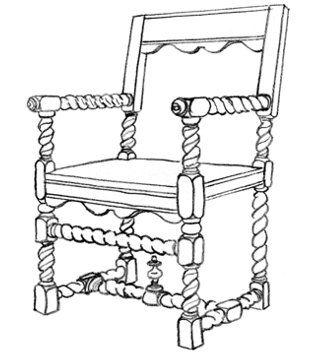 85 best images about Estilos de sillas antiguas on