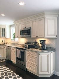 JSI Cabinetry's Wheaton Cabinets with Fantasy Brown ...