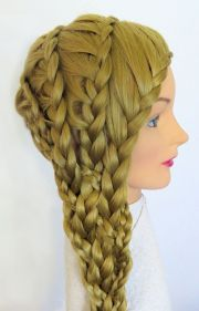 ideas butterfly braid